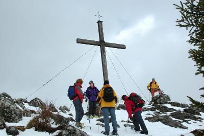 Spitzstein   Winter   Chiemgau