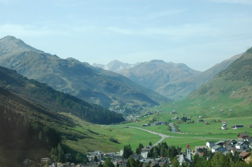 Klettersteig Diavolo : Klettersteig diavolo bei andermatt