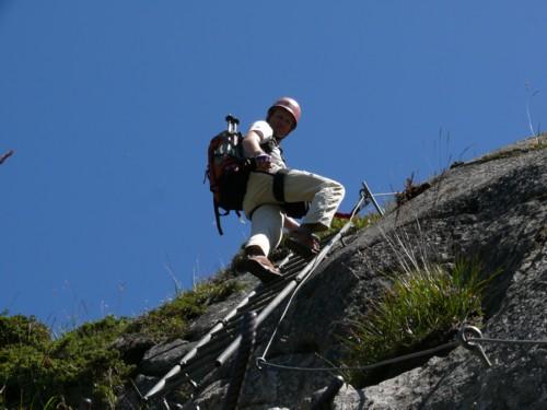 Klettersteig Andermatt : Klettersteig diavolo bei andermatt