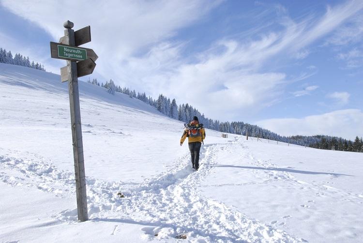 Schliersee, Tegernsee, Winter